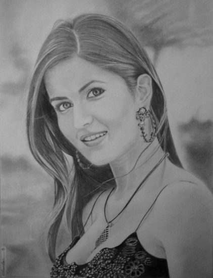 Katrina Kaif por Chandan